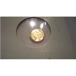 1865 Miniature Maximillian Gold Coin