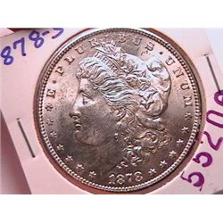 1878-S Morgan Dollar MS63