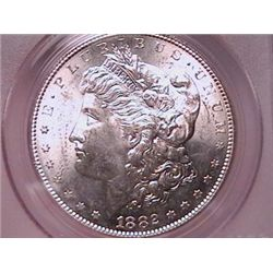 1882-S Morgan Dollar MS63 PCGS