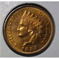 1888  Indian penny  at least an MS63 RED