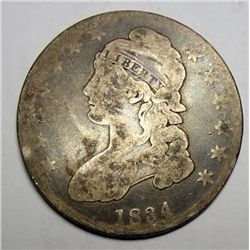 1834 BUST HALF DOLLAR WEAK GOOD