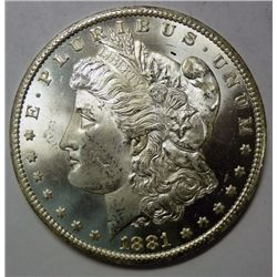 1881CC Morgan $MS63/65