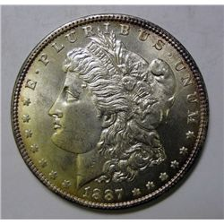 1887 Morgan $  MS64 or better