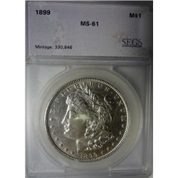 1899 Morgan $  SEGS61