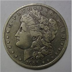 1903O Morgan $  VF