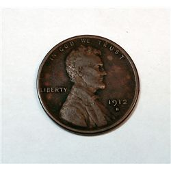 1912-S LINCOLN ONE CENT FINE