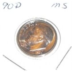 1990-D Roosevelt Dime *PROOF MS*!!