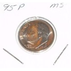 1995-P Roosevelt Dime *PROOF MS*!!
