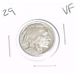 1929 Buffalo Nickel *VERY FINE GRADE*!!