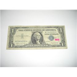 1957 Series A Silver Certificate $1 Bill Serial # N13406056A!!