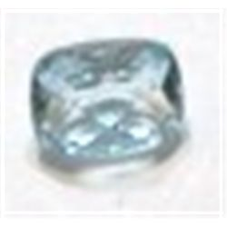 1.55 ct Natural Light Blue Topaz Emerald Cut & Faceted!!!