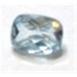 1.65 ct Natural Light Blue Topaz Emerald Cut & Faceted!!!