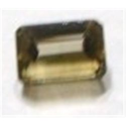 5.40 ct Natural Smoky Topaz Emerald Cut & Faceted *BETTER GRADE*!!!