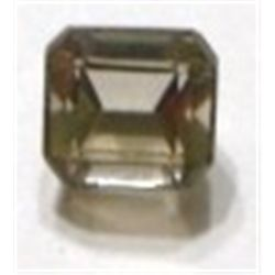 5.90 ct Natural Smoky Topaz Emerald Cut & Faceted *BETTER GRADE*!!!