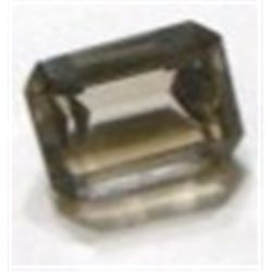 6.00 ct Natural Smoky Topaz Emerald Cut & Faceted *BETTER GRADE*!!!