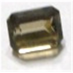 6.65 ct Natural Smoky Topaz Emerald Cut & Faceted *BETTER GRADE*!!!