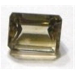 7.40 ct Natural Smoky Topaz Emerald Cut & Faceted *BETTER GRADE*!!!