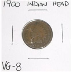 1900 Indian Head Penny *VERY GOOD-8 GRADE*!!!