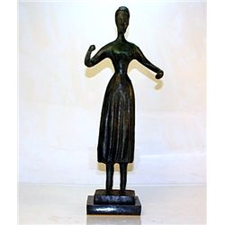 Nadelman  Original, limited Edition  Bronze - Standing Woman