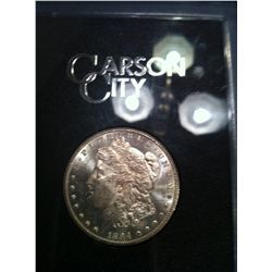 1884 Carson City Morgan Dollar, GSA