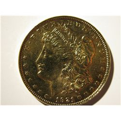 Gold Plated 1921 Moragan Dollar