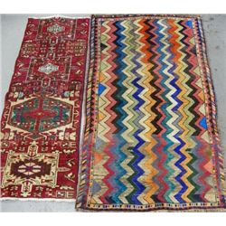 2 Shiraz scatter rugs