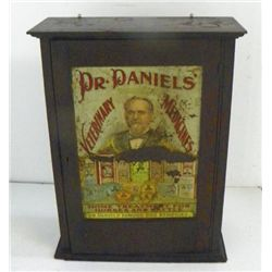 Veterinary Medicine Advertising oak cabinet
