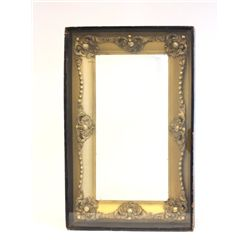 Gold leaf frame in shadow box