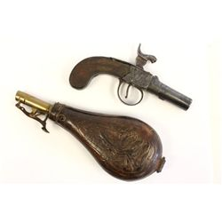 19th c. Colchester, Howe flintlock pistol