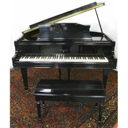 Knabe baby grand piano & bench ca. 1938