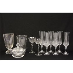 Lot of 11 glass pieces
