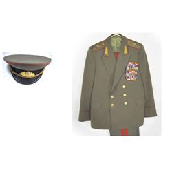 Russian military uniform