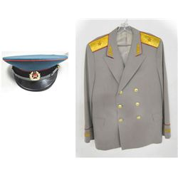Russian military parade uniform