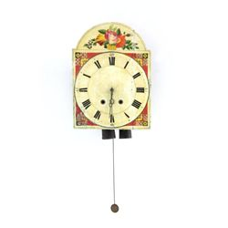 19th c. Pennsylvania Dutch clock