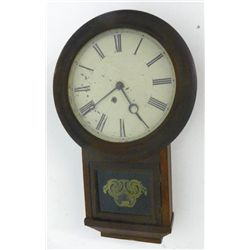 19th c. Atkins rosewood 8 day clock