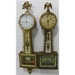2 Banjo clocks