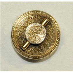 "14kt gold pin in ""Hat"" form 19th c."