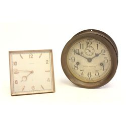 2 Brass clocks