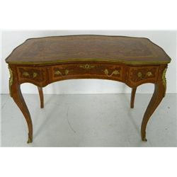French style bronze mounted writing desk