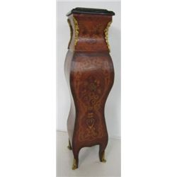 French style marble top pedestal