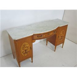 Marble top French vanity ca. 1930's