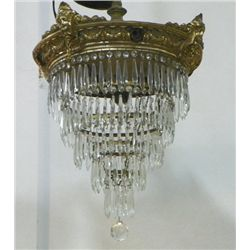 Late 19th/early 20th c. chandelier