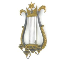 Gilt wood Empire sconce with  Swan Heads