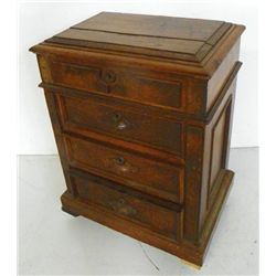 3 Drawer Victorian sewing cabinet