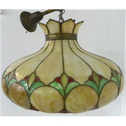 Leaded glass dome