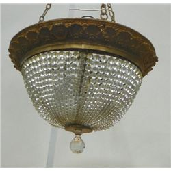 Composition and crystal dome fixture