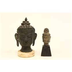 "Two ""Buddha Heads"""