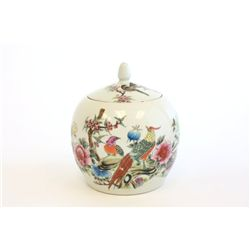 Early 20thc Chinese covered ginger jar