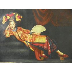 "Painting of ""Qing Dynasty Princess"""