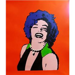 ONLY $100 ORIGINAL ARTWORK MARILYN MONROE WARHOL STYLE CANVAS POP COLORFUL SALE